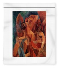 Trois Femmes Three Women  Fleece Blanket