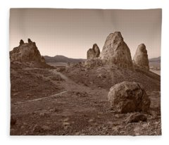 Trona Landscape Fleece Blanket