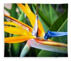 Tropical Closeup Fleece Blanket