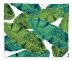 Tropical Colors 2 Fleece Blanket