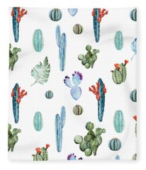 Tropical Forever 2 Fleece Blanket