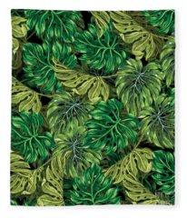 Tropical Haven 2 Fleece Blanket