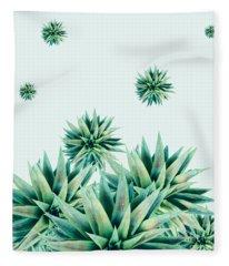 Tropical Stars  Fleece Blanket