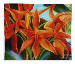 Tropicana Fleece Blanket