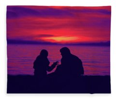 True Confessions Fleece Blanket