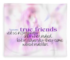 True Friends Fleece Blanket