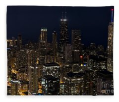 Trump Hotel Fleece Blanket