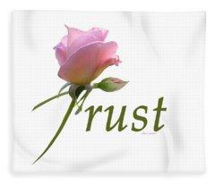 Trust Fleece Blanket