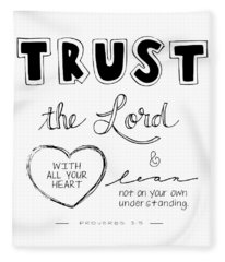 Trust Fleece Blanket