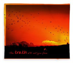 Truth Fleece Blanket
