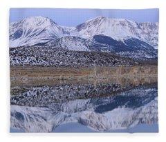 Tufa Dawn Winter Dreamscape Fleece Blanket