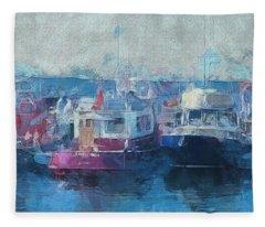Tugs Together  Fleece Blanket