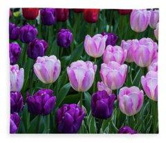 Tulip Blush Fleece Blanket