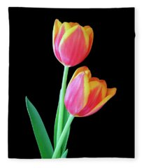 Tulip Duo Fleece Blanket