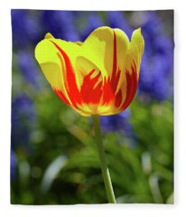 Tulip Flame Fleece Blanket
