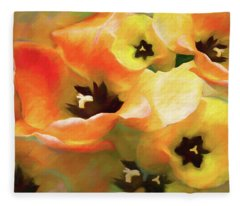 Tulip Sheen 3  Fleece Blanket
