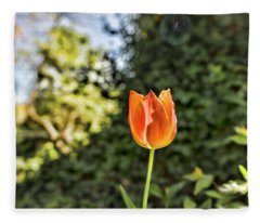 Tulip Time Fleece Blanket