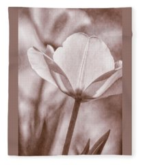 Tulip Transparency IIi Fleece Blanket