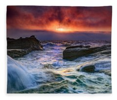 Tumult Fleece Blanket