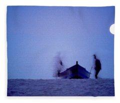 Tunesian Night Fleece Blanket