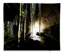 Tunnel Icicles Fleece Blanket