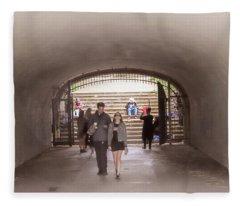 Tunnel Music Fleece Blanket