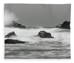 Turbulent Thoughts Fleece Blanket