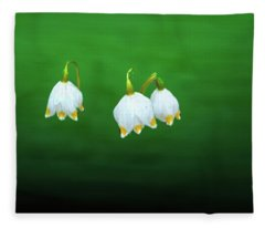 Turkey-eggs On Green #g2 Fleece Blanket