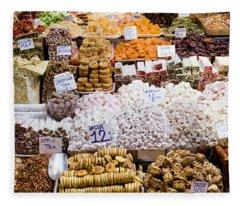 Turkish Delight In Istanbul Fleece Blanket