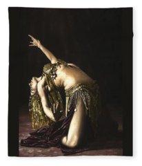 Bellydancer Fleece Blankets