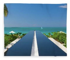 Turks And Caicos Fleece Blanket