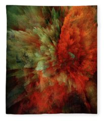 Turmoil Fleece Blanket