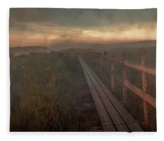 Turn To Infinity #g6 Fleece Blanket
