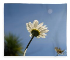 Turn To The Light Fleece Blanket