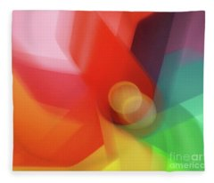 Turn Your Luck Around Fleece Blanket