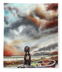 Turner's Dog Fleece Blanket