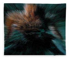 Turquoise Island Princess Nebula Fleece Blanket