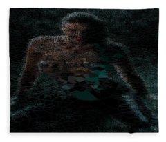 Turquoise Island Princess Fleece Blanket