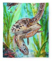 Turtle Cove Fleece Blanket