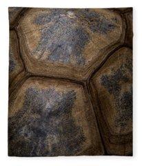 Turtle Shell Fleece Blanket