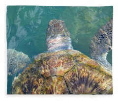 Turtle Texture Fleece Blanket