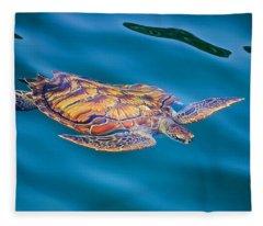 Turtle Up Fleece Blanket
