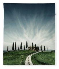 Tuscan Dream Fleece Blanket