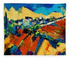 Tuscan Light Fleece Blanket