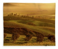 Tuscan Villa Fleece Blanket