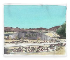 Twentynine Palms Welcome Fleece Blanket