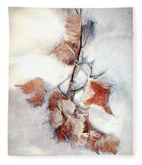 Twigged Fleece Blanket