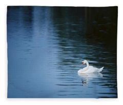 Twilight Drift Fleece Blanket