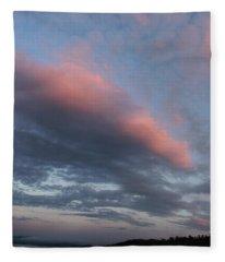 Twilight In The Wilderness Fleece Blanket
