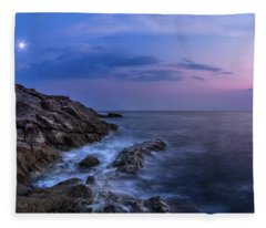 Twilight Sea Fleece Blanket